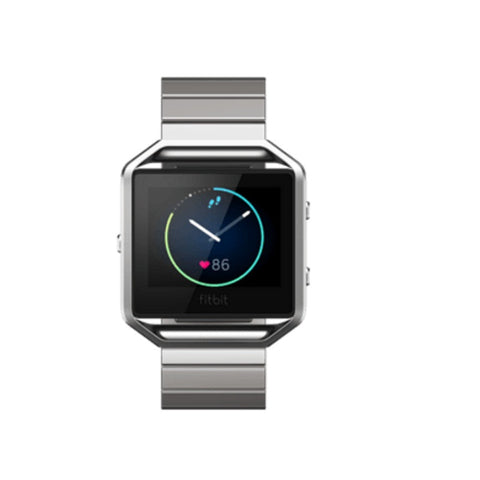 Fitbit Blaze Metal Links Stainless Steel Strap Only (Silver)