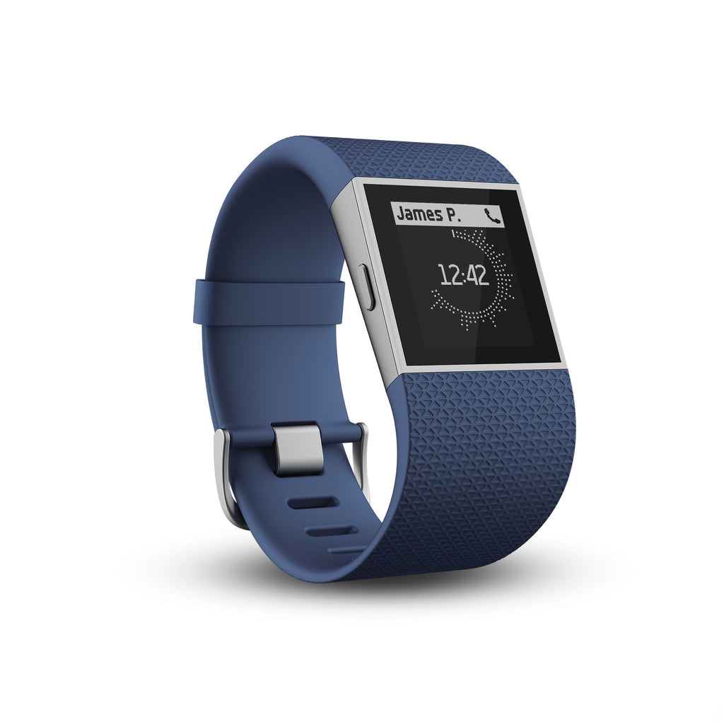 Fitbit Surge FB501BUS Fitness Super Watch Small (Blue)