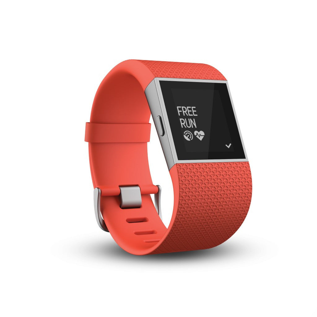 Fitbit Surge FB501TAL Fitness Super Watch Large (Tangerine)