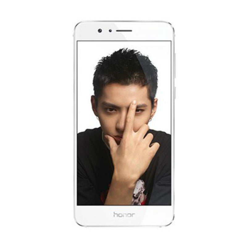 Huawei Honor 8 Dual 64GB 4G LTE White (FRD-AL10) Unlocked with 4GB RAM (CN Version)