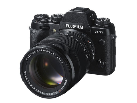 Fuji Film X-T1 Kit with 18-135mm Lens Black Mirrorless Digital Camera