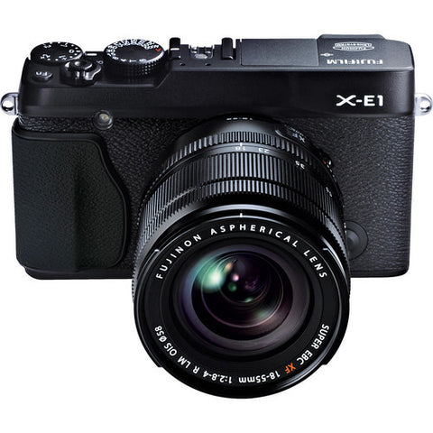 Fujifilm X-E1 Kit with 18-55mm Lens Black Digital Camera