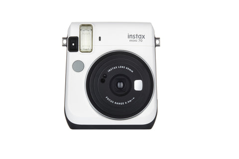 Fuji Film Instax Mini 70 Moon White Instant Camera