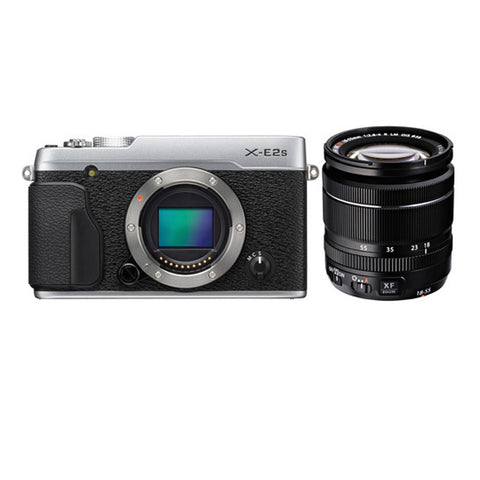 Fujifilm X-E2S Kit with 18-55mm Lens Silver Mirrorless Digital Camera