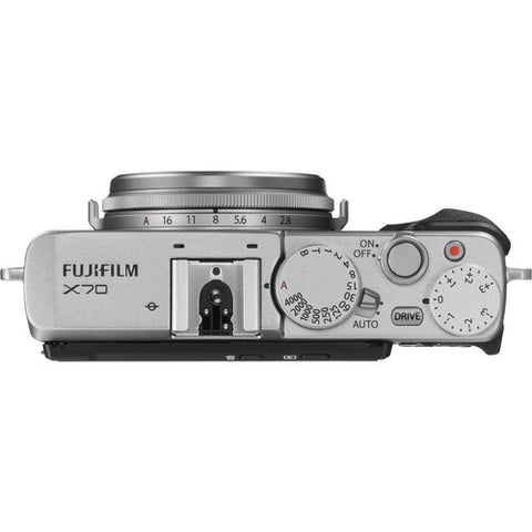 Fujifilm X70 Silver Digital Camera