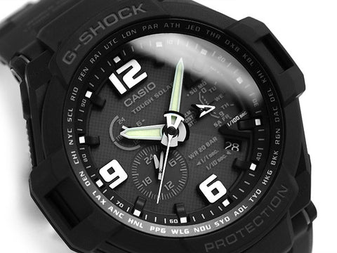 Casio G-Shock Gravitymaster G-1400D-1A Watch (New with Tags)