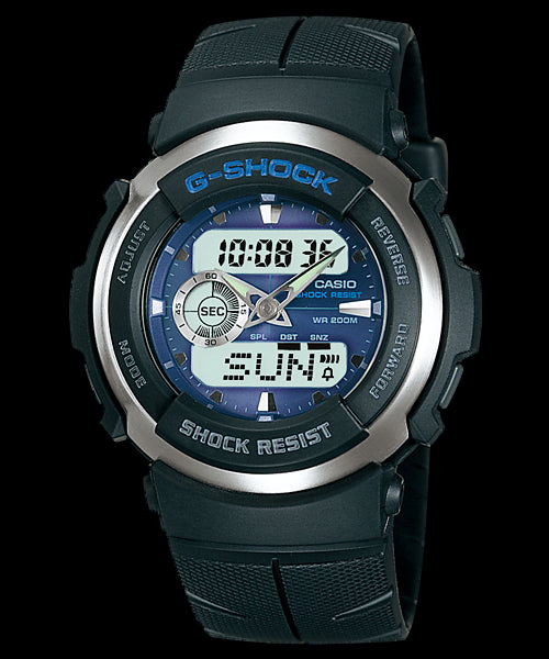 Casio G-Shock Standard Analog-Digital G-300-2AVDR Watch (New With Tags)