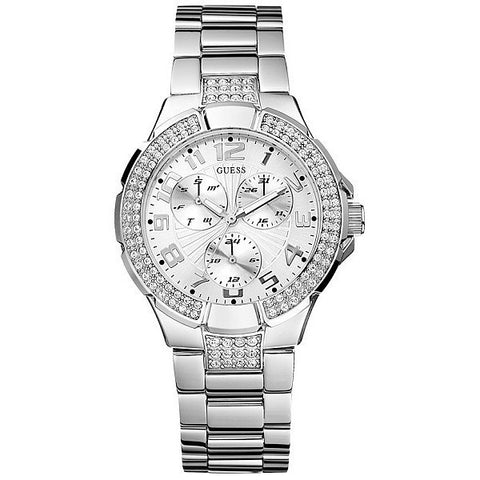 Guess Sport Crystal Glitz G12557L Watch (New With Tags)