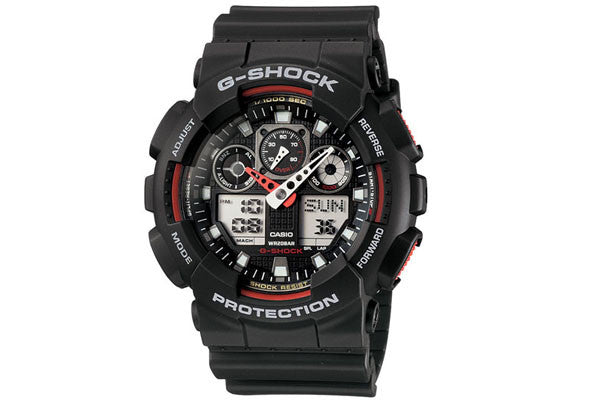 Casio G-Shock Analog-Digital GA-100-1A4 Watch (New with Tags)