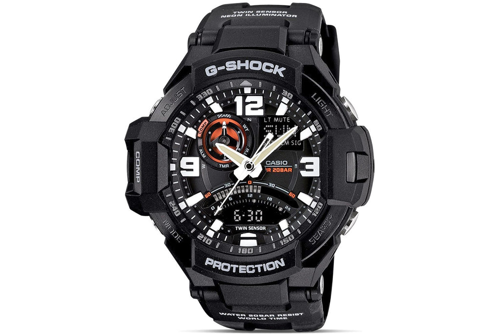 Casio G-Shock G-Aviation GA-1000-1ADR Watch (New With Tags)