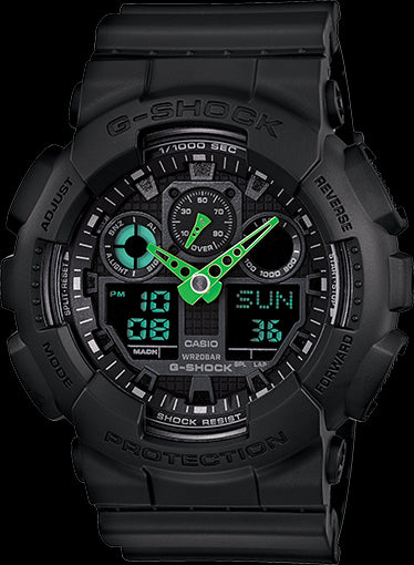 Casio G-Shock Trending GA-100C-1A3 Watch (New With Tags)