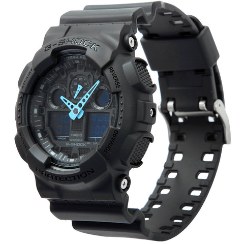 Casio G-Shock Analog-Digital GA-100C-8A Watch (New with Tags)