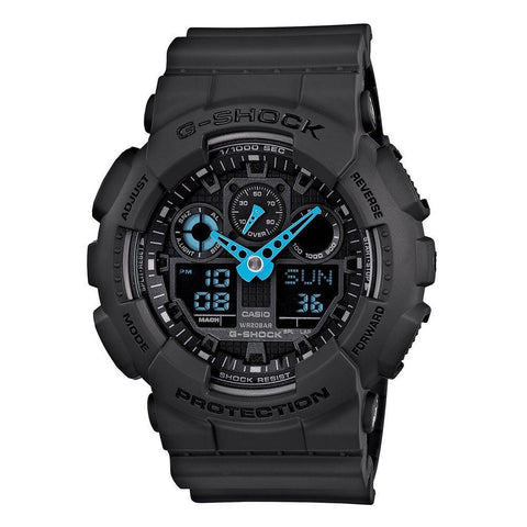 Casio G-Shock Analog-Digital GA-100C-8ADR Watch (New with Tags)