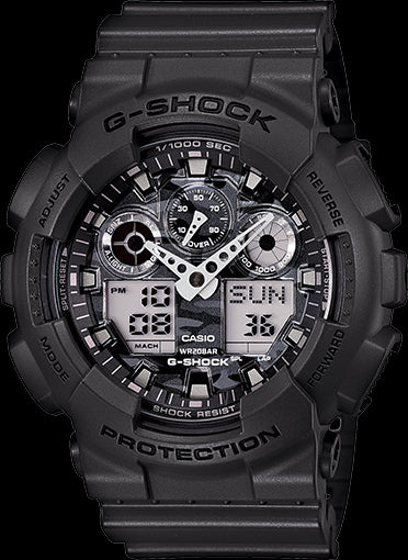Casio G-Shock Special Color Model GA-100CF-8ADR Watch (New With Tags)