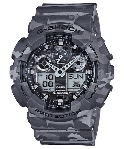 Casio G-Shock Standard Analog-Digital GA-100CM-8ADR Watch (New with Tags)