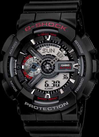 Casio G-Shock Limited Model GA-110-1ADR Watch (New With Tags)
