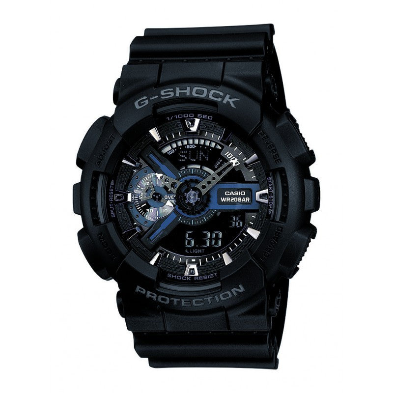 Casio G-Shock Standard Analog-Digital GA-110-1BDR Watch (New with Tags)