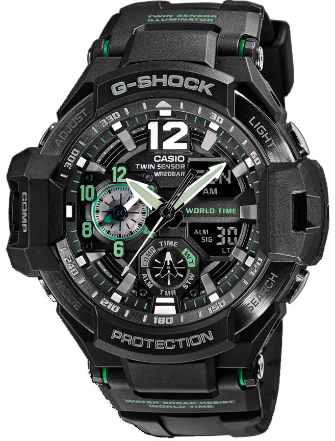 Casio G-Shock Gravitymaster GA-1100-1A3DR Watch (New with Tags)