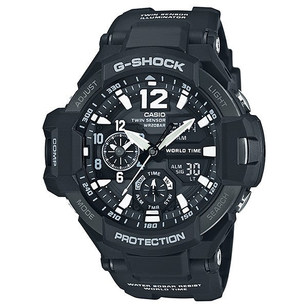 Casio G-Shock Gravitymaster GA-1100-1ADR Watch (New with Tags)