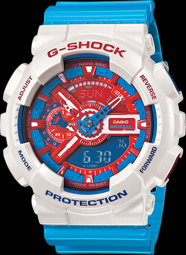 Casio G-Shock Trending GA-110AC-7ADR Watch (New With Tags)