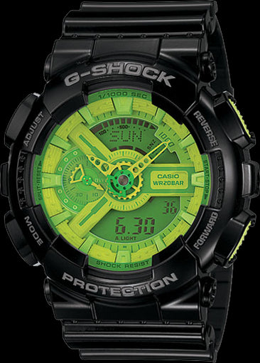 Casio G-Shock Standard Analog-Digital GA-110B-1A3DR Watch (New With Tags)
