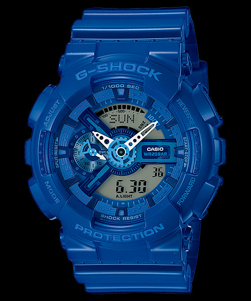 Casio G-Shock Standard Analog-Digital GA-110BC-2ADR Watch (New With Tags)