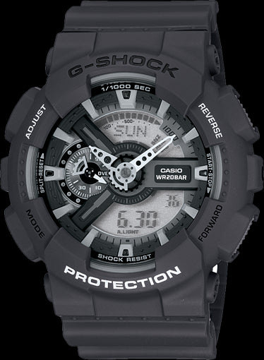 Casio G-Shock Standard Analog-Digital GA-110C-1ADR Watch (New With Tags)