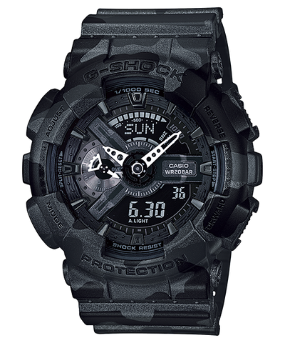 Casio G-Shock Standard Analog-Digital GA-110CM-1ADR Watch (New with Tags)