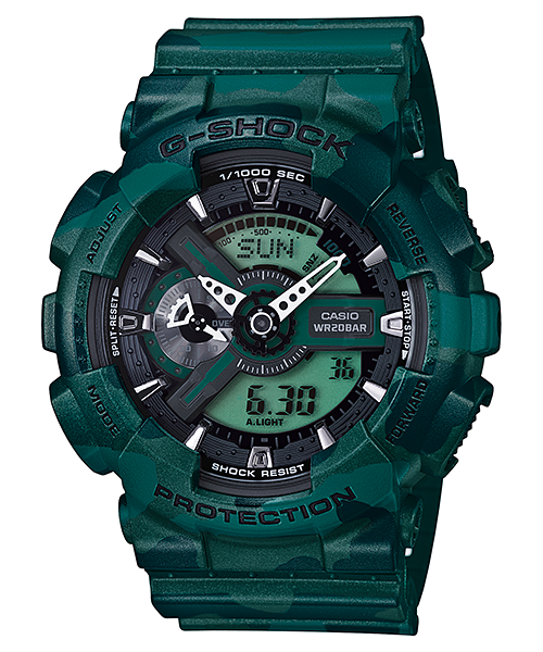 Casio G-Shock Standard Analog-Digital GA-110CM-3ADR Watch (New with Tags)