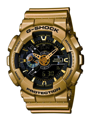 Casio G-Shock Analog-Digital GA-110GD-9BDR Watch (New with Tags)