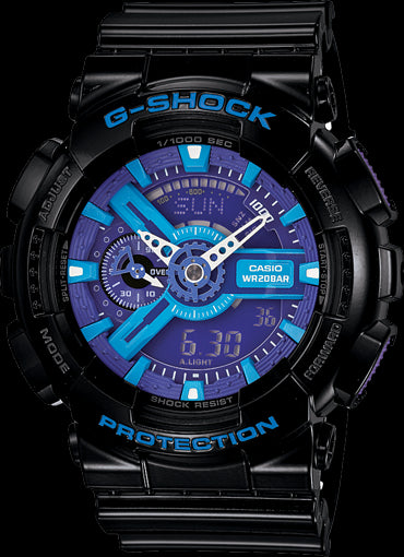 Casio G-Shock Standard Analog-Digital GA-110HC-1ADR Watch (New With Tags)