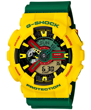 Casio G-Shock Standard Analog-Digital GA-110RF-9ADR Watch (New with Tags)