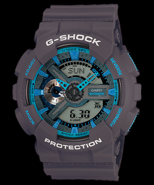 Casio G-Shock Standard Analog-Digital GA-110TS-8A2DR Watch (New With Tags)