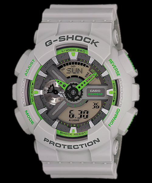 Casio G-Shock Standard Analog-Digital GA-110TS-8A3DR Watch (New With Tags)