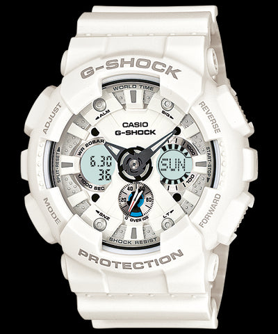Casio G-Shock Standard Analog-Digital GA-120A-7ADR Watch (New With Tags)