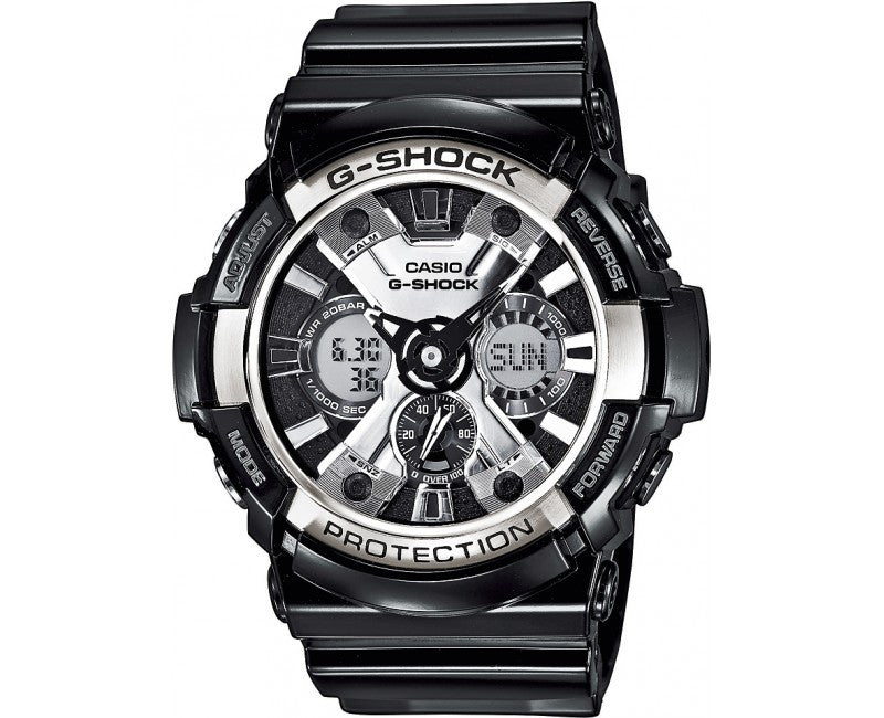 Casio G-Shock Analog-Digital GA-200BW-1ADR Watch (New with Tags)