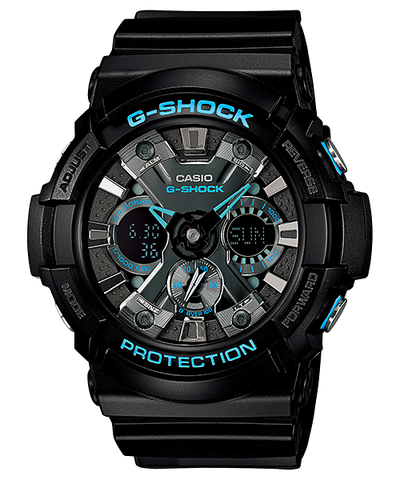 Casio G-Shock Standard Analog-Digital GA-201BA-1ADR Watch (New with Tags)
