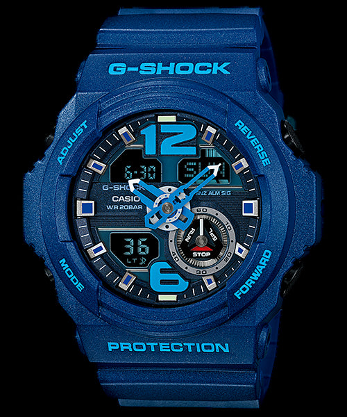 Casio G-Shock Standard Analog-Digital GA-310-2ADR Watch (New With Tags)