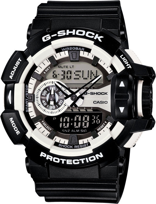 Casio G-Shock Analog-Digital GA-400-1ADR Watch (New with Tags)