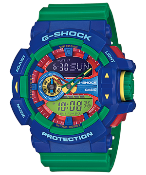 Casio G-Shock Standard Analog-Digital GA-400-2ADR Watch (New with Tags)