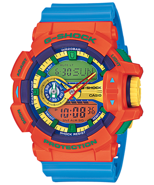 Casio G-Shock Standard Analog-Digital GA-400-4ADR Watch (New with Tags)