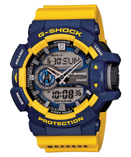 Casio G-Shock Standard Analog-Digital GA-400-9BDR Watch (New with Tags)