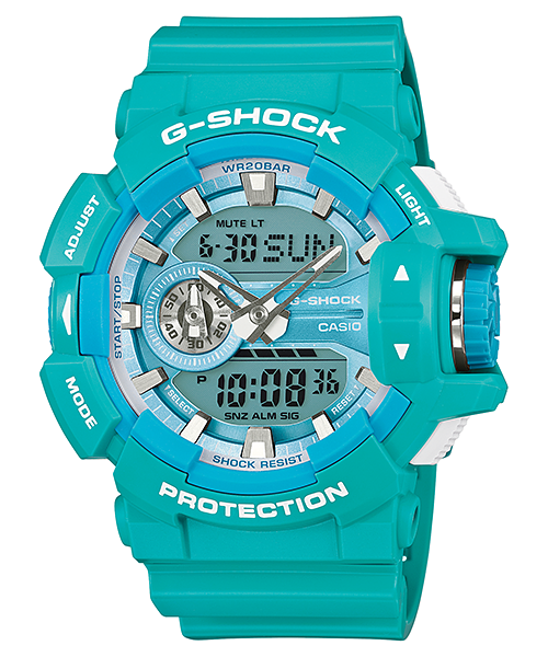 Casio G-Shock Analog-Digital GA-400A-2ADR Watch (New with Tags)