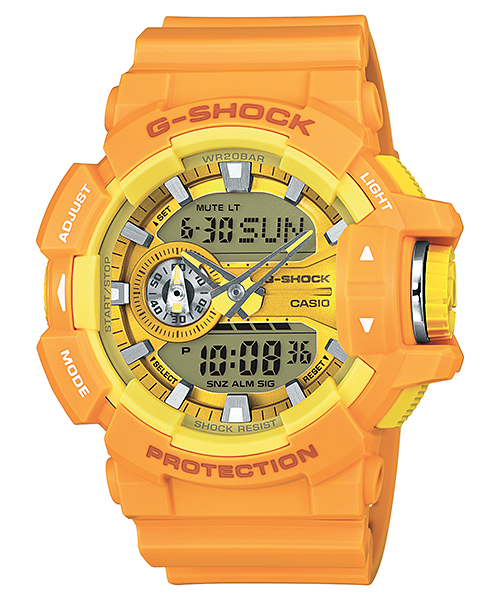 Casio G-Shock Analog-Digital GA-400A-9ADR Watch (New with Tags)