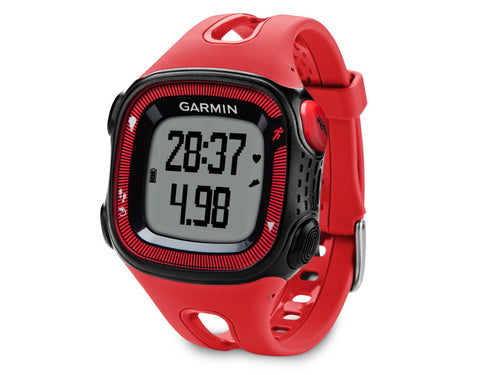 Garmin Forerunner 15 010-01241-01 Fitness Watch Red/Black