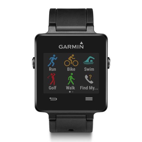 Garmin Vivoactive 010-01297-00 GPS Watch (Black)