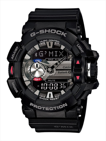 Casio G-Shock G-Mix Analog-Digital GBA-400-1ADR Watch (New with Tags)