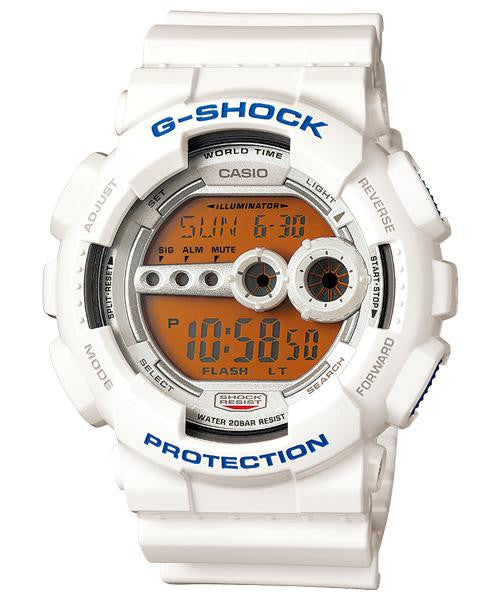Casio G-Shock Digital GD-100SC-7DR Watch (New with Tags)