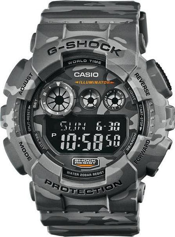 Casio G-Shock Camo Analog-Digital GD-120CM-8DR Watch (New with Tags)
