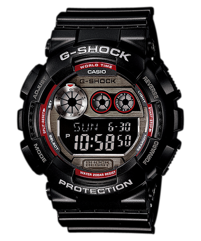 Casio G-Shock Standard Analog-Digital GD-120TS-1DR Watch (New with Tags)